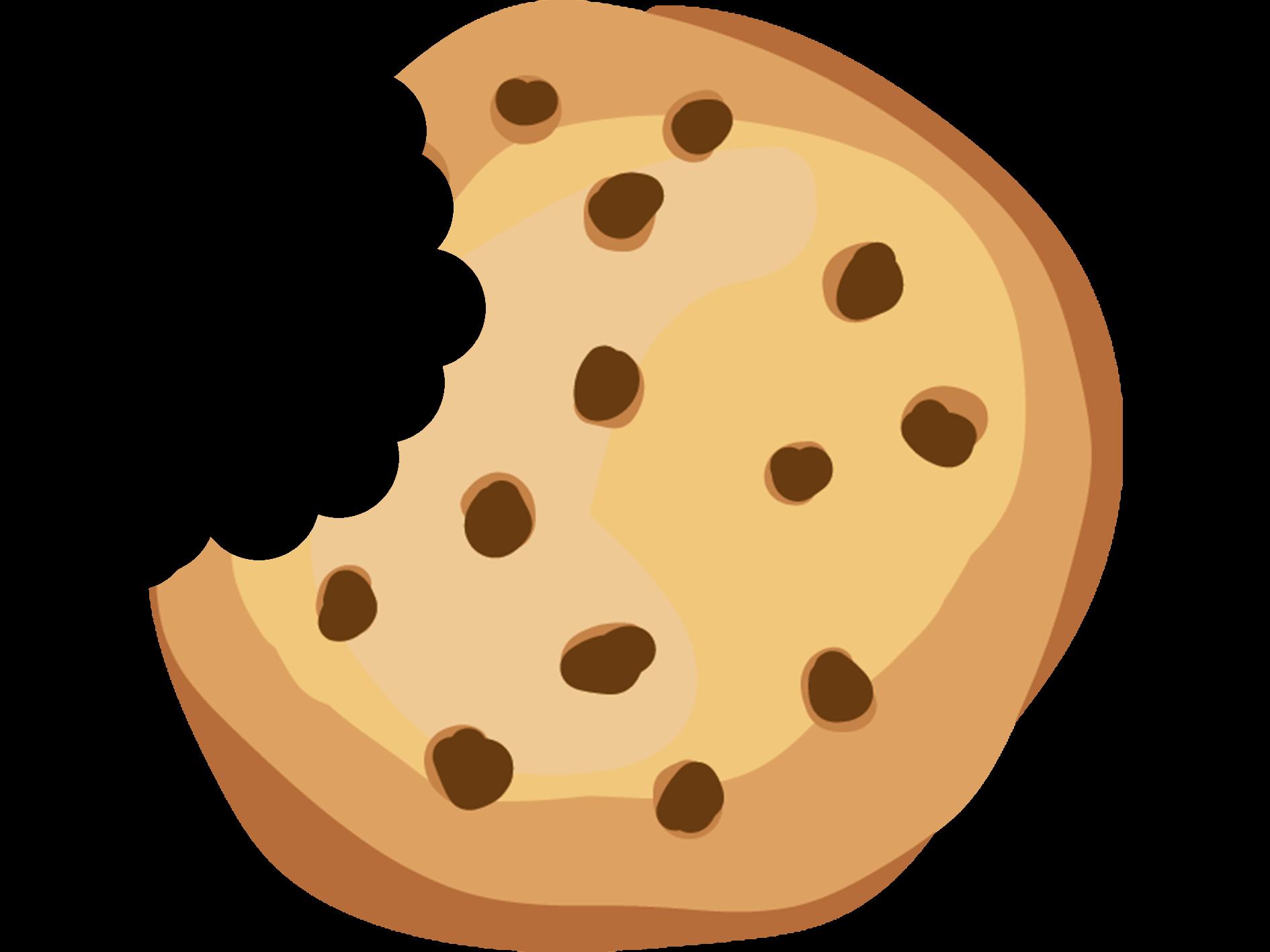 Cartoon cookies as a popup banner
