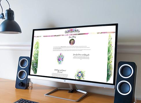 Church Farm Flowers desktop view